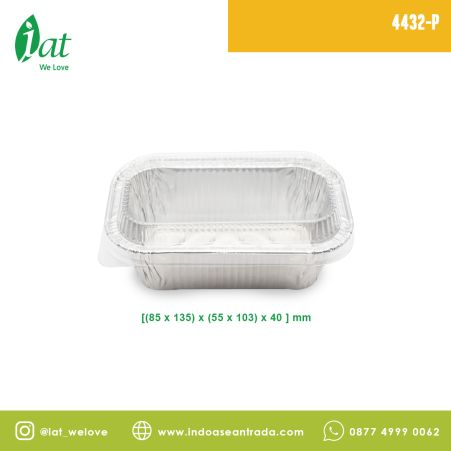 Aluminiun Tray STAR No.4432-P (320 ml)<br> 3 4432_p2