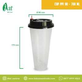 PP Injection Cup 24 oz D90 mm  700 ml