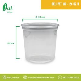 Deli Container 24 oz D116 mm  695 ml Outer Lock