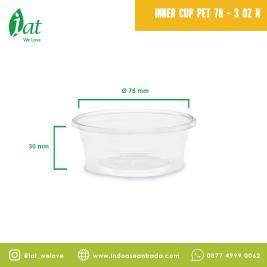 Double Lock Inner Cup 3 oz D78  90 ml