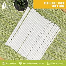 PLA Flexible Straw 7MM x 20MM